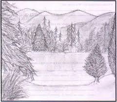 scenery drawing