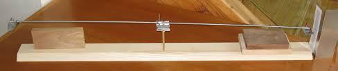 homemade balance scale