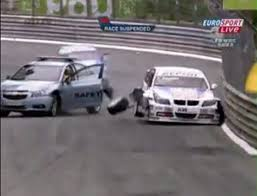 safety car crash