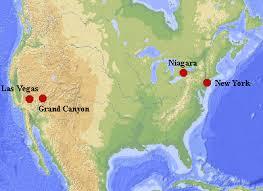 niagara falls usa map