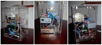 plexiglass pc case