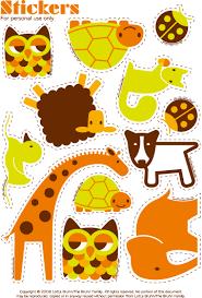 printable animal