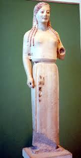 greek statues of women