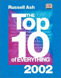 top 10 lists of everything