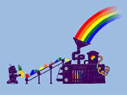 rainbow machine