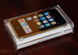 ipod touch in box