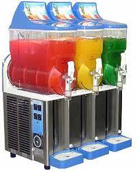 frozen machines