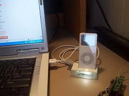 apple ipod nano docking