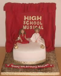 high school musical cakes