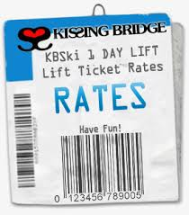 ski lift ticket