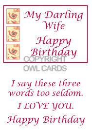 birthday cards wife