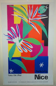 henri matisse paper cut out