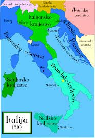 italija map