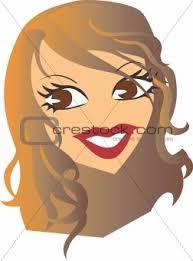 girl face clip art