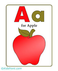 alphabets coloring pages