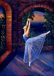 paintings of ballet dancers