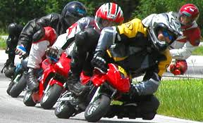 mini motorcycle race