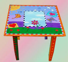 kids painted furniture
