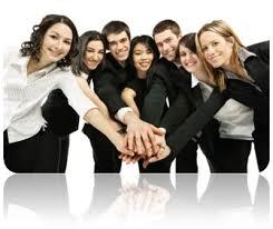 teams working together
