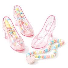 candy in shoes