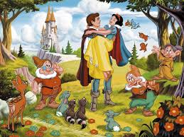 snowwhite and seven dwarfs