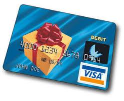 visa gift card number