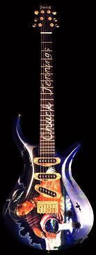 custom painted guitars
