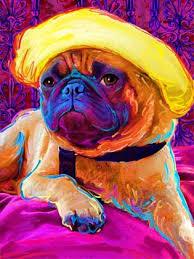 pug artwork