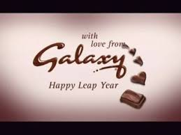 chocolate bar advert