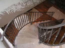 iron stairway railings