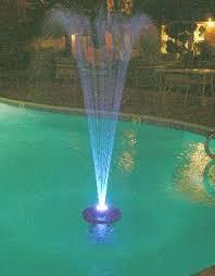 lighted fountain
