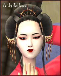 geisha face makeup