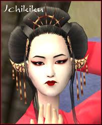 geisha face makeup