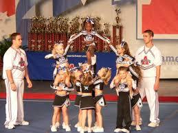 cheerleading pyramid ideas