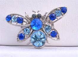 aquamarine brooch