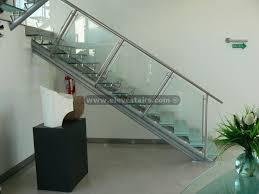 glass stair rails