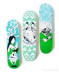 pictures of skateboard decks