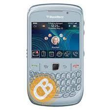 blackberry curve in white