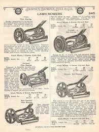 antique lawnmowers