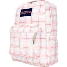 pink plaid backpacks