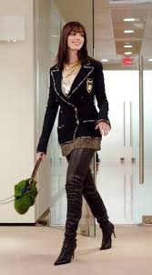 anne hathaway devil wears prada outfits