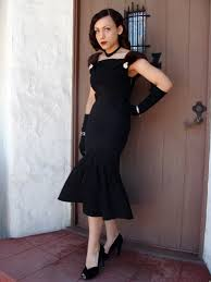 forties style dress