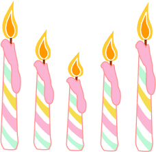 candle graphics