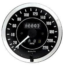 mechanical speedo