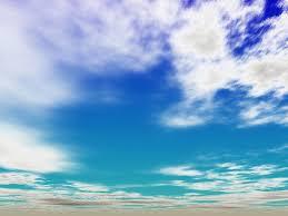 cloud screensaver