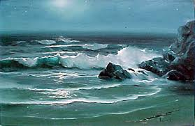 paintings of seascapes