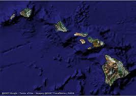 aerial map of hawaii