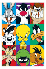 cartoon characters posters