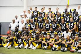 2008 steelers team photo