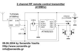 rf remote control schematic
